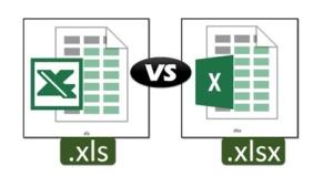 XLS Vs XLSX