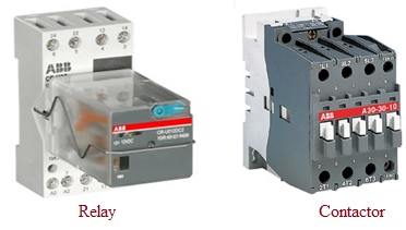 15 Differences Between Relay And Contactor With Comparison Chart Viva Differences